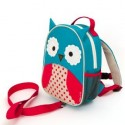 Skip Hop Zoo Let Mini Backpack with rein ( OWL )