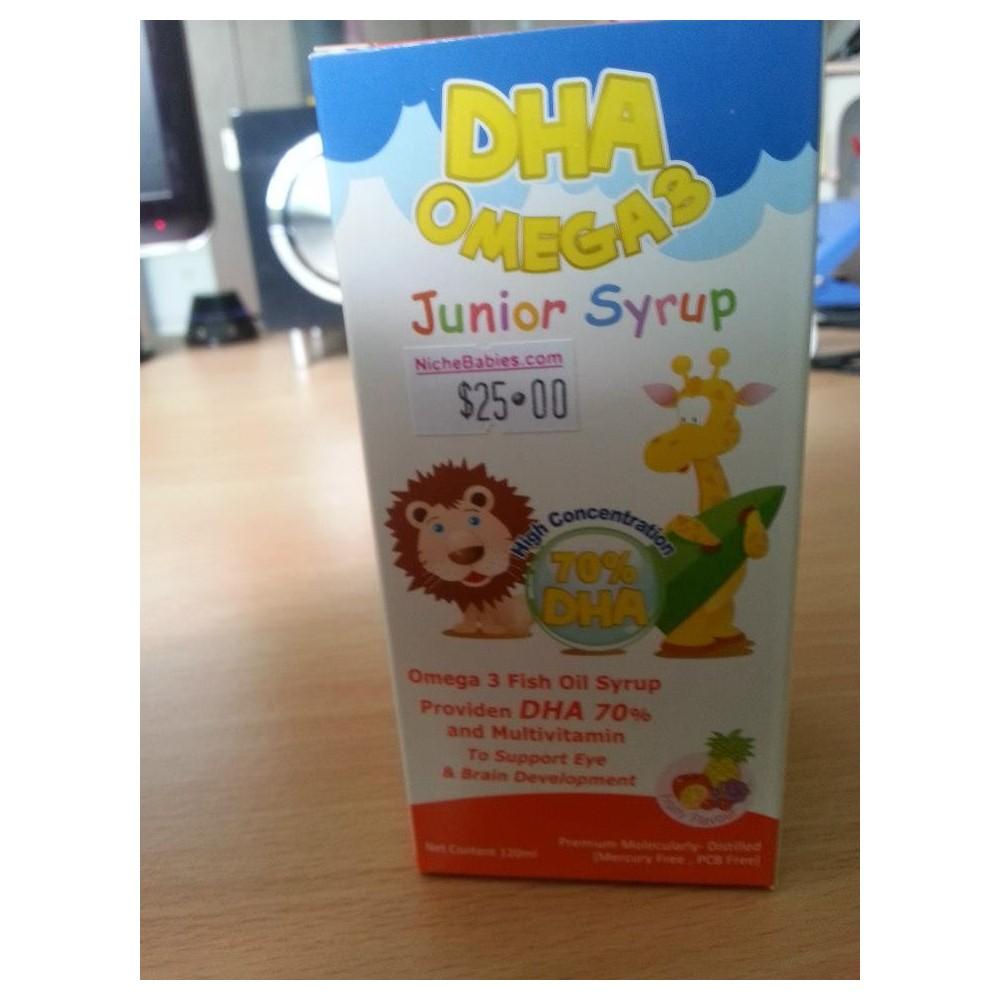 Dha Omega3 Junior Syrup 120ml Nichebabies