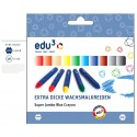 edu3 Jumbo Hexagonal Oil Pastel (24 colours + 6 pieces card box)