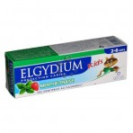 Elgydium Strawberry Mint Toothpaste Gel with Fluorinol for 2-6 Years Old Kids