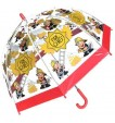 Bugzz Kids Stuff Kids SAFE Umbrella - FIREMAN