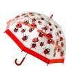Bugzz Kids Stuff Kids SAFE Umbrella - LADYBUG