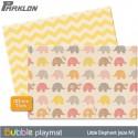 BUBBLE Playmat - LITTLE ELEPHANT (SIZE M40)