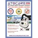 Atocare UV-C Vacuum Cleaner - Anti Dust Mite / Allergy / Bacteria